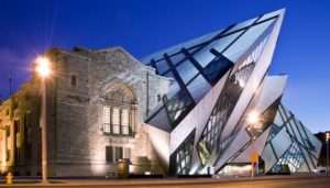 Michael Lee-Chin Crystal at the Royal Ontario Museum in Toronto, Ontario, Canada, 2007