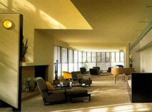 Lovell House interior, Los Angeles (1927–29)