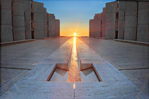 The Salk Institute for Biological Studies, built in 1960