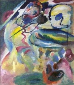 Wassily Kandinsky, Picture with a Circle (Bild mit Kreis), 1911 Georgian National Museum, Tbilisi.