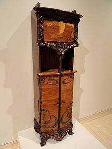 Cabinet by Louis Majorelle,1900.