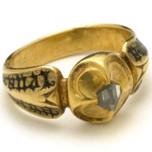 Example of ring coming from the Early-Modern period.