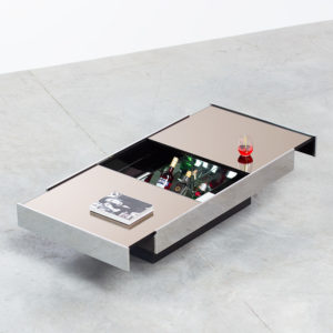 Willy Rizzo Coffee Table.Willy Rizzo 1928 2013 I Design
