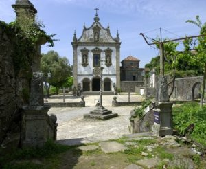 The best preserved Visigothic monument Saint Frutuoso Chapel, Braga (Portugal)