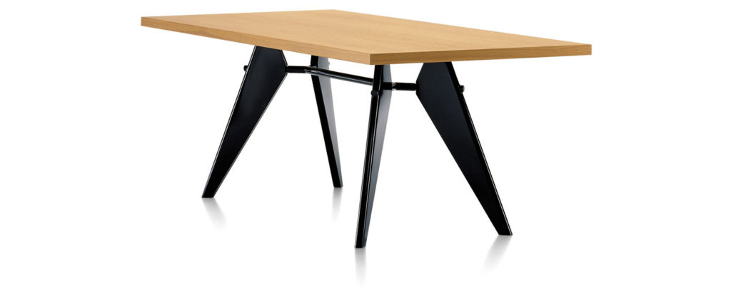 EM Table by Jean Prouvé for Vitra, 1950.