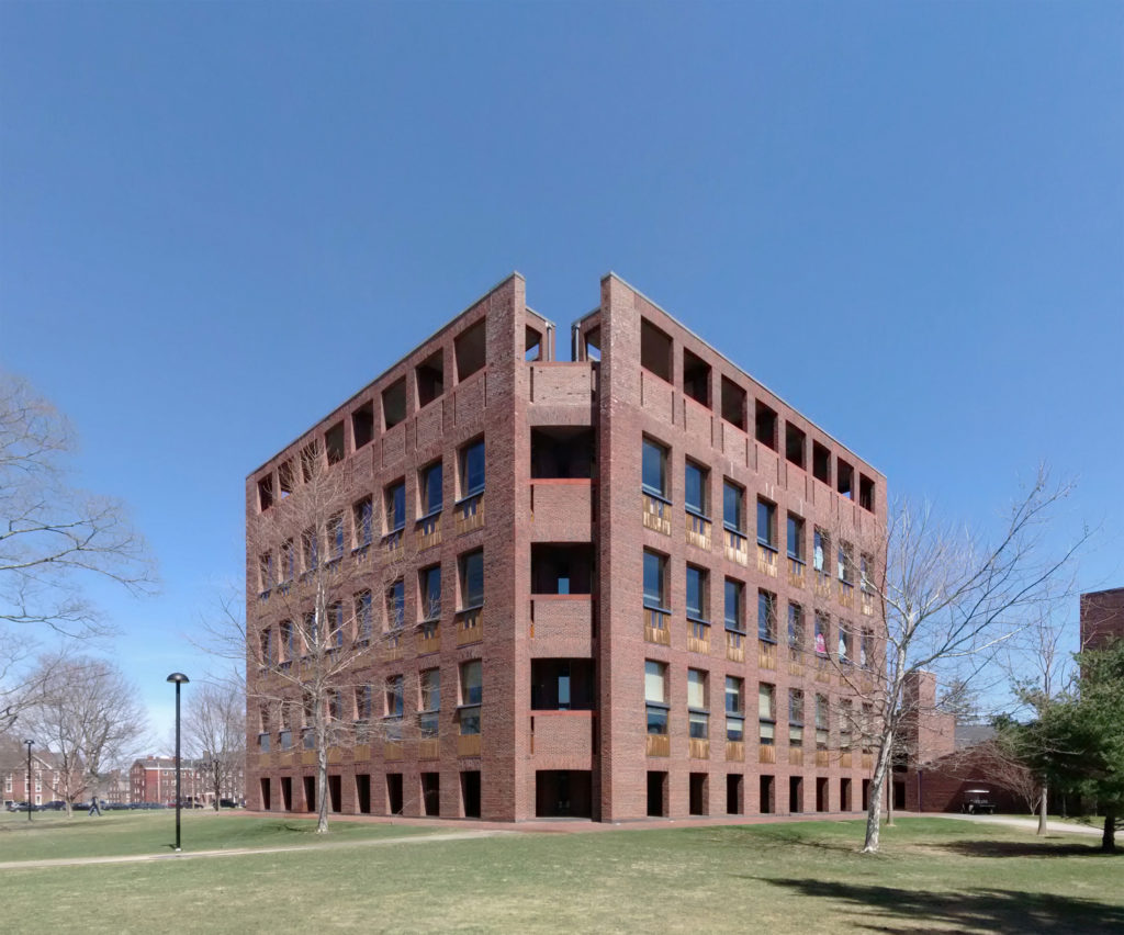 Phillips Exeter Academy Library, by Louis I. Kahn, New Hampshire, USA.