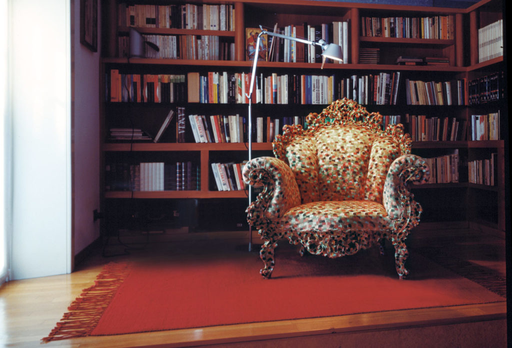 The Proust Armchair by Alessandro Mendini, 1978.