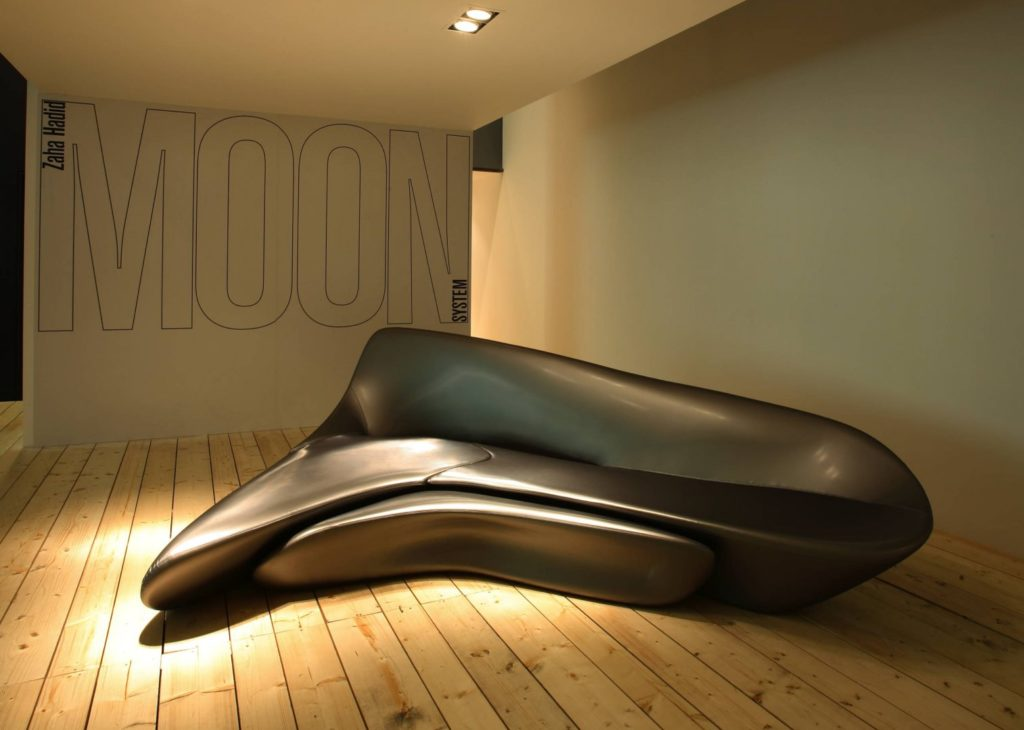 Moon System by Zaha Hadid and B&B Italia, 2007.