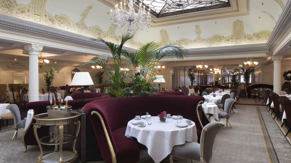 The Georgian Restaurant, one of Christopher Guy Harrison's luxurious design.