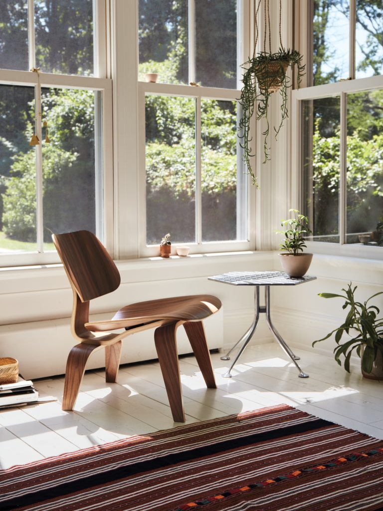 The Eames Molded Lounge Chair as showcased by the Herman Miller Official Store.