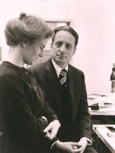 Venturi with his wife.