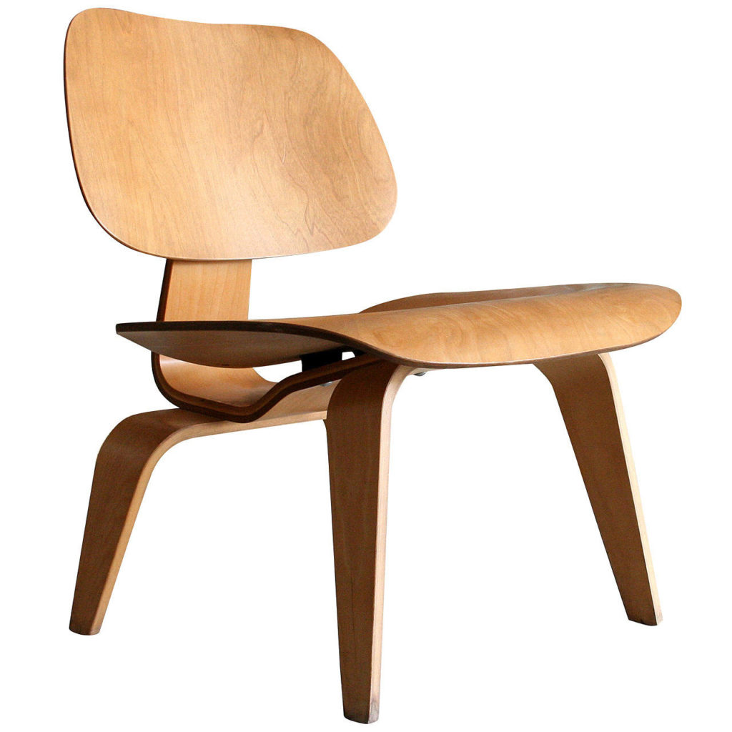 The Eames Lounge Chair Wood, by Charles and Ray Eames, 1948.