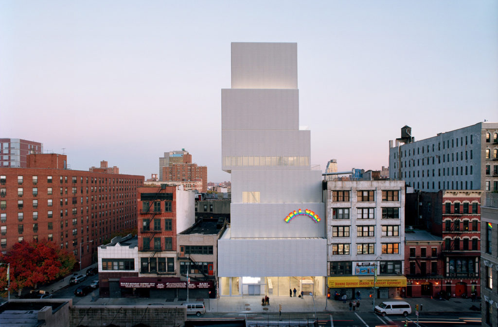 New Museum of Contemporary Art in New York City, by Kazuyou Sejima, 2003 - 2007.