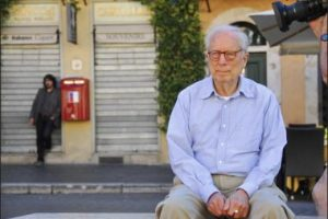 Charles Venturi during an interview in Rome, 2008.