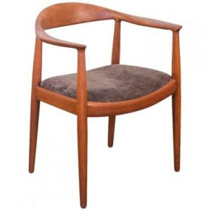 """Wegner's """"The Chair"""", also known as The Round Chair."""