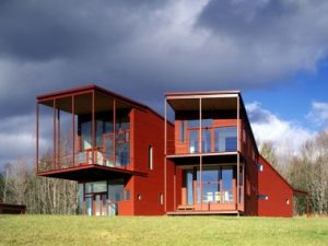 Y House, designed by Steven Holl in 1999.