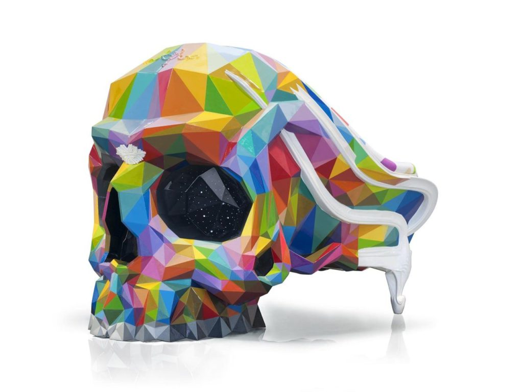 The Skull Armchair. Harow ft. Okuta.