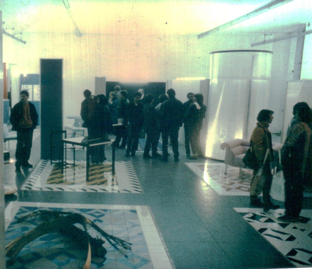 Architetture Mobili, one of Studiodada's most successful exhibitions.