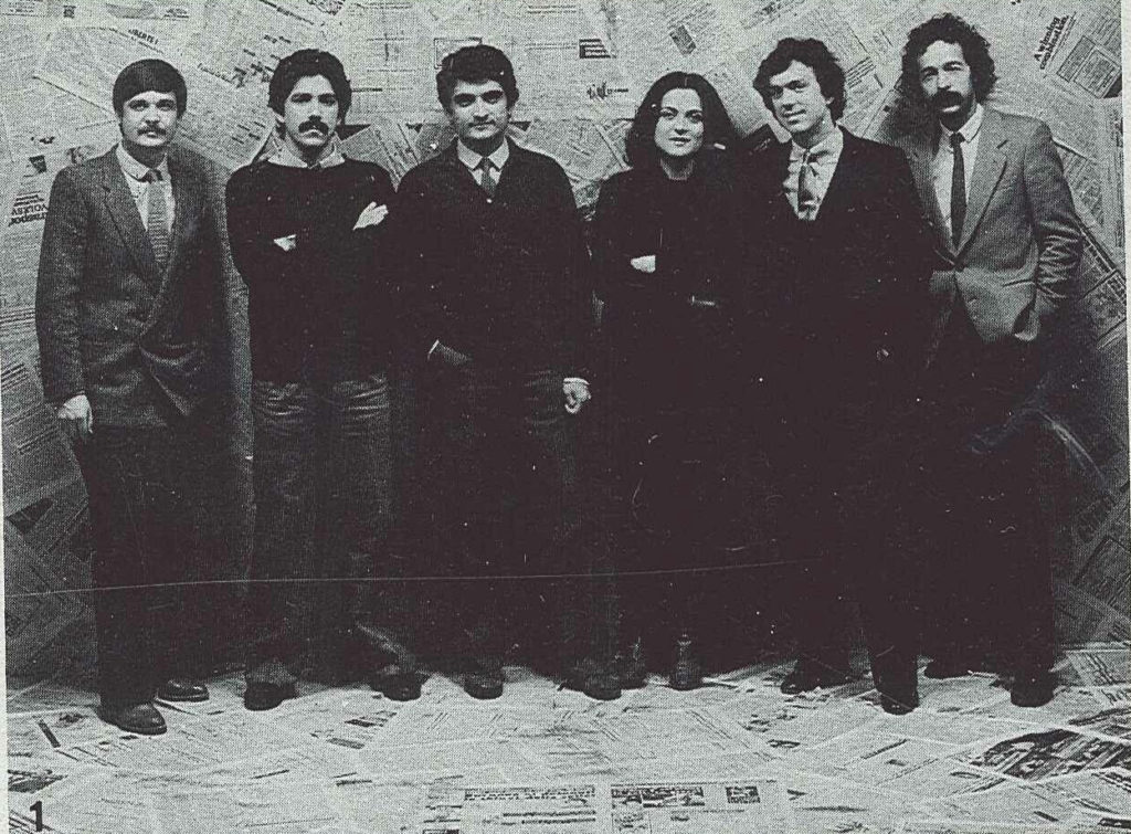 Founding members of the Italian design and architectural office Studiodada.