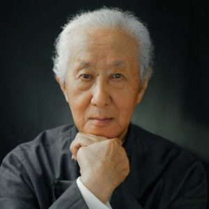 Portrait of Arata Isozaki.
