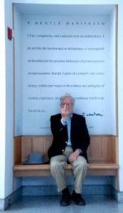 "Robert Venturi offers a ""gentle"" manifesto."