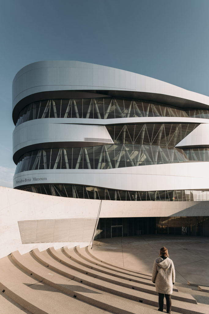 The Mercedes-Benz Museum in Stuttgart, by Ben van Berket with UNStudio.