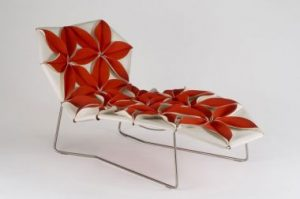 """Antibodi"" chaise longue for moroso, Patricia Urquiola , 2006."