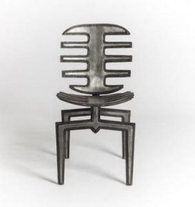 Front view of the Frond Chair.
