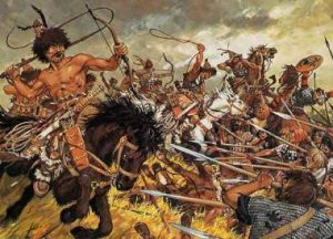 Both barbarian and Roman militaries savaged villages and cities they encountered during warfare times.