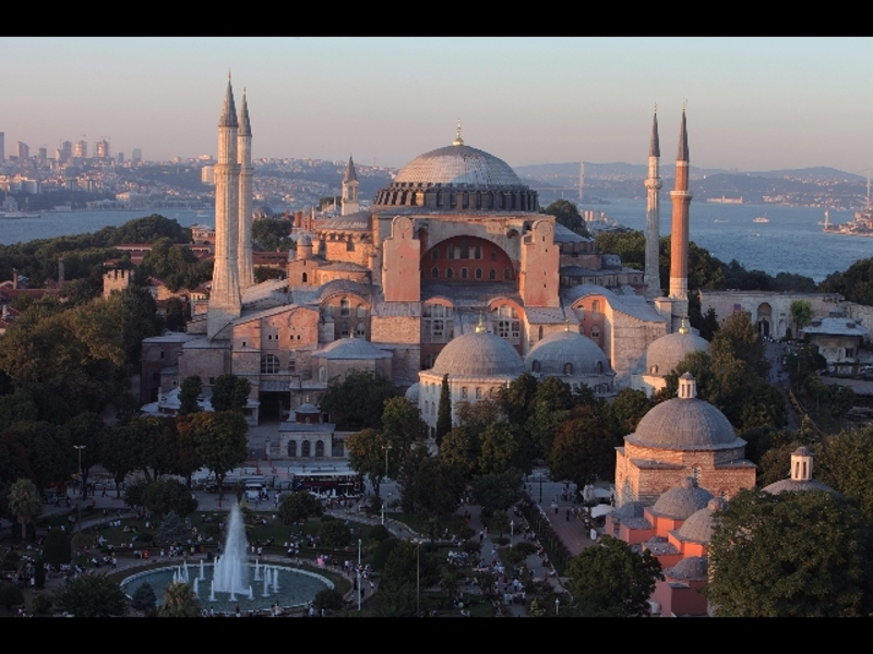 Constantinople, Istanbul today, was the capital cisty of the Eastern Roman Empire.