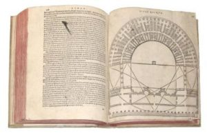 Vitruviu's illustrated its theories and rules with technical drawings and examples.