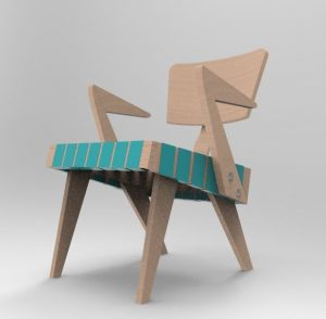 Lounge Chair with Arms