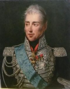 The Count of Artois: Charles X of France, portrait.