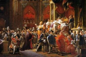 Gerard Francois, The Coronation of Charles X. 1827