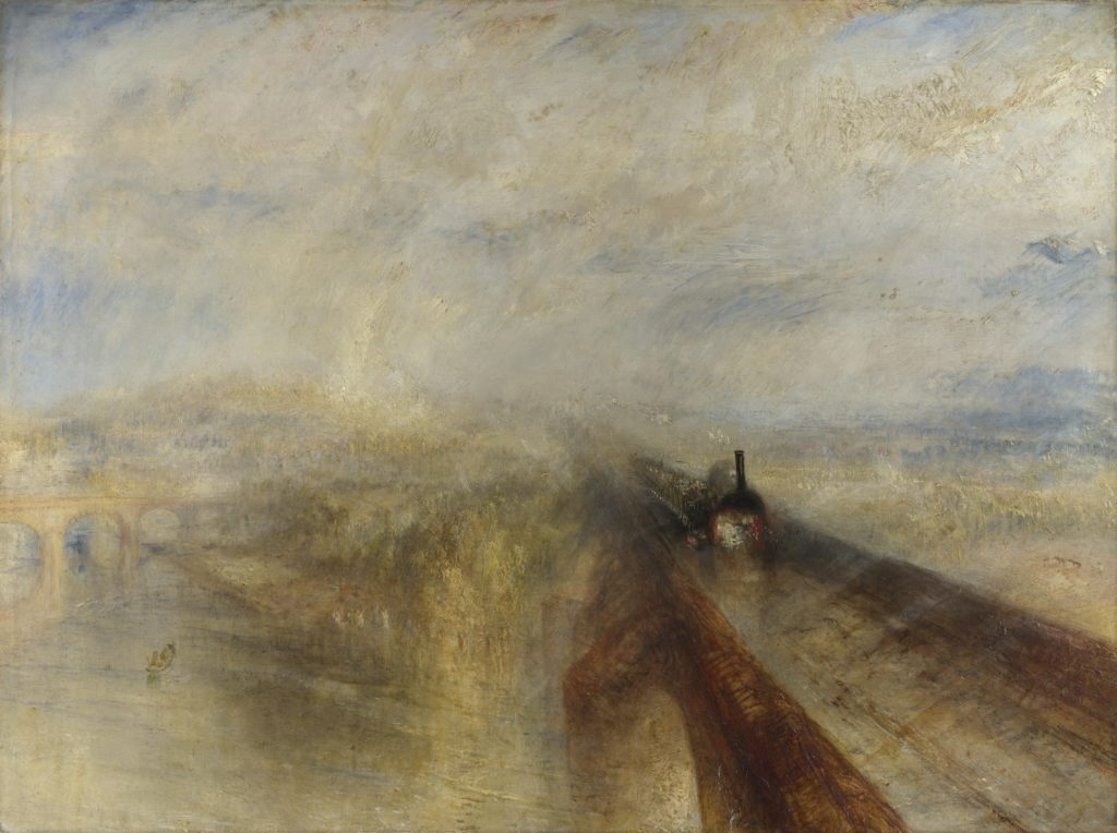 J. M. W. Turner, Rain, Steam and Speed - The Great Western Railway, 1844