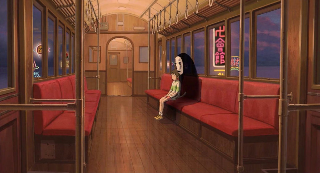 "Chihiro and No Face, ""Spirited Away"" (2001)"