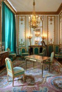 "Marie-Antoinette's ""boudoir"", Versailles."