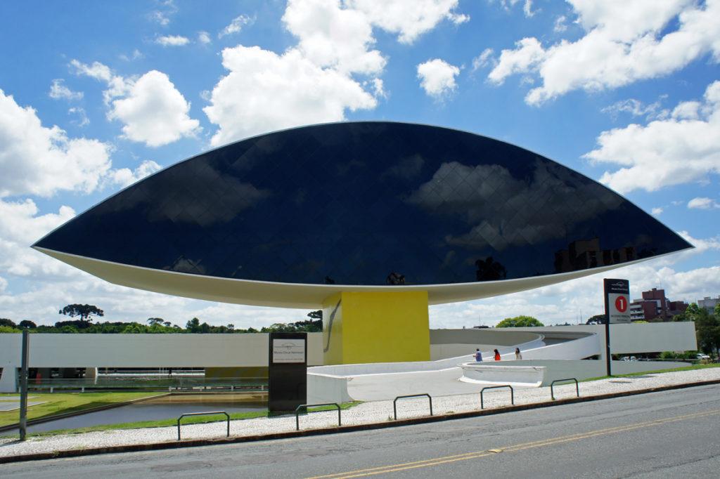 Museum Oscar Niemeyer, Curitiba, Brazil