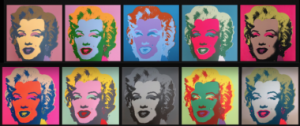 The Marilyn Monroe series by Andy Warhol.