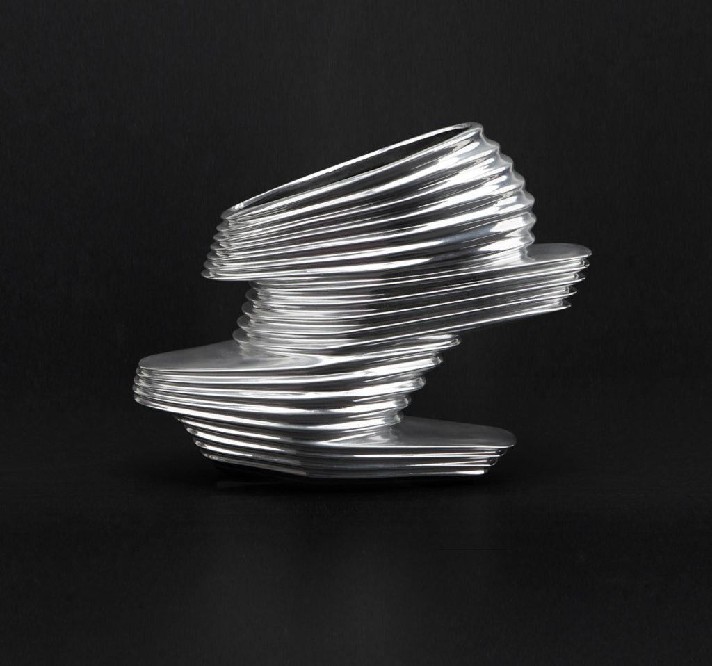 The NOVA shoe, designed by Zaha Hadid for United Nude.