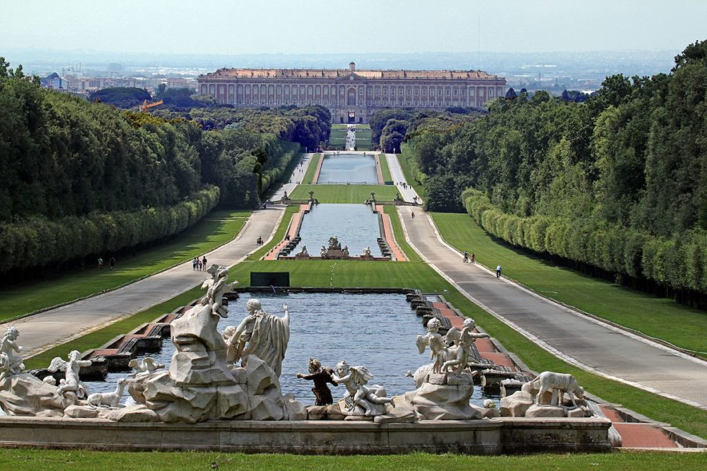 The Royal Palace of Caserta.