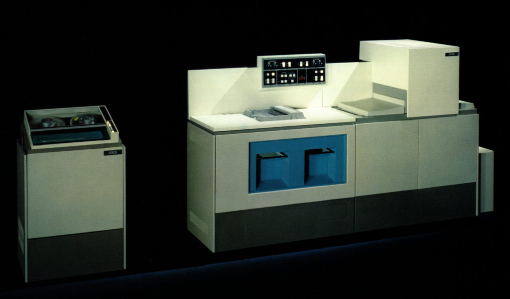 Xerox 1200, the first commercial laser printer.