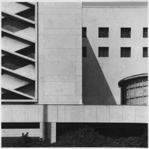 Adalberto Libera, Post Office, Rome (1935). He was one of the protagonists of Rationalism.