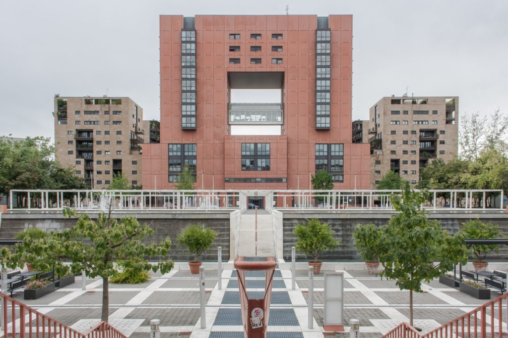 View of the Bicocca distric in Milan.