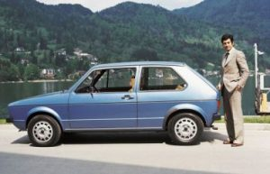 Giorgetto Giugiaro designed the first Volkswagen Golf.