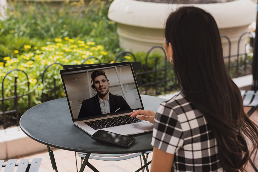 Smart working and video-conferencing.